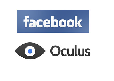 Facebook and Oculus Rift Logos