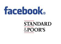 Facebook and Standard & Poor - Logos