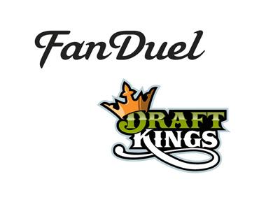 Fanduel and Draftkings - Company logos - Fantasy sports