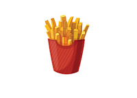 French Fries - Illustration