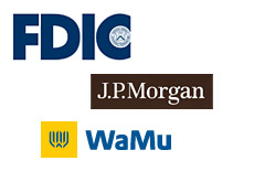 company logos - fdic - washington mutual - jp morgan