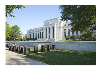 The Federal Reserve building in Washington DC - Photo taken from across the street.