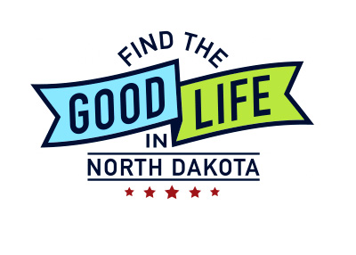 Find Good Life in North Dakota - Advertising Campaign Logo