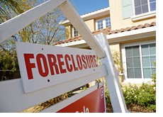 -- foreclosure sign - u.s. real estate market  - further decline? --