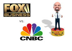 fox business against cnbc - attacking jim cramer