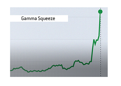 The Gamma Squeeze chart.