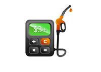 Gas Price $3 Plus - Illustration