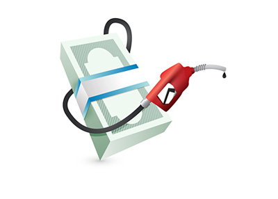 Gas Prices - Illustration - Concept