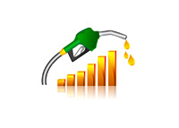 Gas Prices Rising - Illustration
