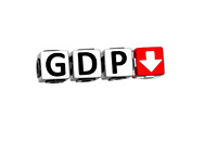GDP (Gross Domestic Product) - Concept - Illustration