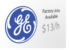 -- general electric logo - jobs available --