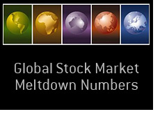 global stock market meltdown - 8 major indexes down at least 60 percent
