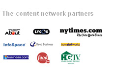 google content network partners - logos