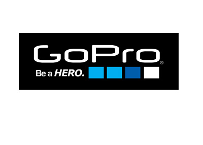 GoPro company logo - Black version
