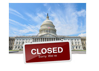 Government Closed - Photo Illustration