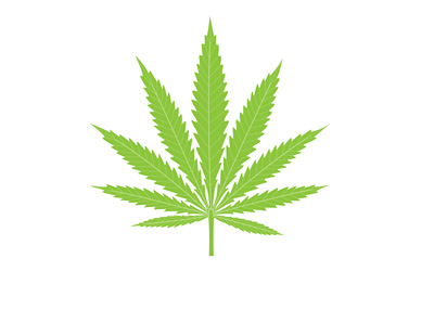 Hemp Leaf - Illustration