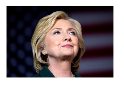 Hillary Clinton campaign poster - I am with her