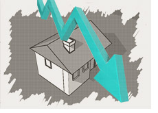 housing prices tanking