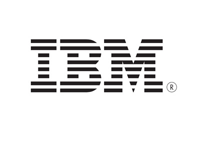 IBM logo - Black and white version
