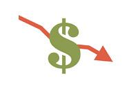 Income Drop - Illustration