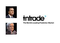 Intrade logo - Mitt Romney vs. Newt Gingrich
