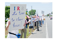 IRS Protest - Pensacola, FL - May 21s, 2013