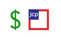 JC Penney - Stock Price - Illustration