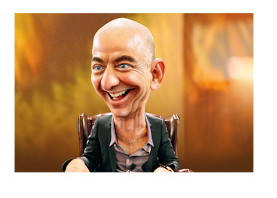 Jeff Bezos caricature by MonkeyHotey - Flickrr