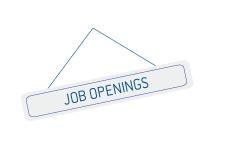 -- Door sign - Job Openings --