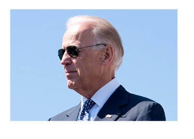 Vice President Joe Biden - 4th of July photo - Wearing dark sunglasses - Sunny day