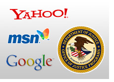 google msn and yahoo pay fines to the department of justice for promoting online gambling