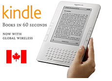 -- amazon kindle - available in canada --