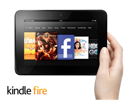 Kindle Fire - Product Photo and Logo