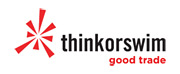 company logo - thinkorswim - online brokerage house