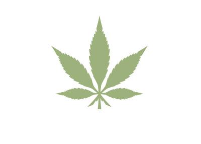 Marijuana Leaf - Symbol - Concept