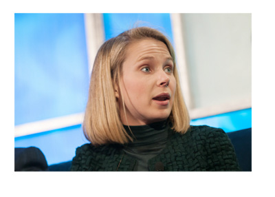 Yahoo CEO Marissa Mayer - Tech Conference - Archive photo