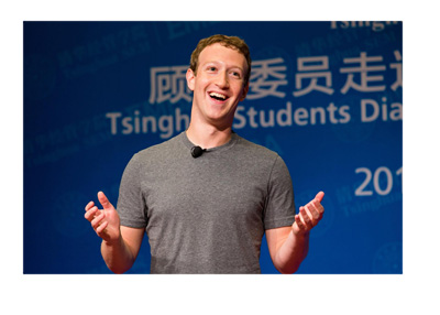 Facebook CEO Mark Zuckerberg - Profile picture - Smiling