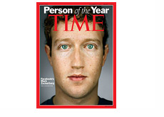 Time Magazine Person of the Year - 2010 - Mark Zuckerberg