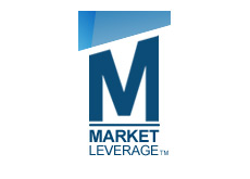 corporate logo - market leverage - bringing together advertisers and publishers