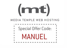 Media Temple Special Offer Code - Manuel - and Company Logo