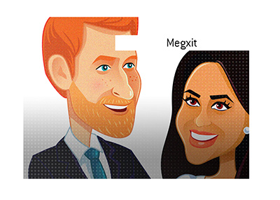 Dave explains the newly coined term that is gaining in popularity - Megxit - What does it mean?
