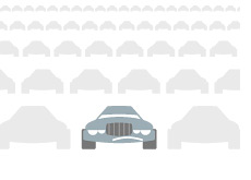 -- Unemployment in MIchigan - Automakers - Illustration - Sad cars --