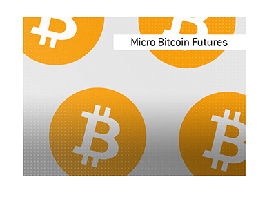 The article explaining what Micro Bitcoin Futures are.  Graphic presentation.