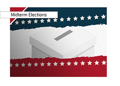 The midterm elections are on in the United States of America.