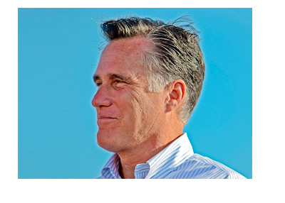 Mitt Romney speech - Circa 2012 - Clear Blue Sky