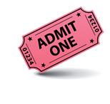 Movie Ticket Stub - Illustration