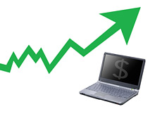 -- internet revenues on the rise --