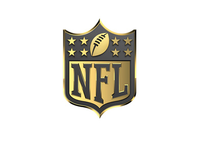 The National Football League (NFL) - Logo - Year 2015 - Gold colour