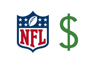 The National Football League - Financials - Concept illustration / logo