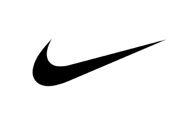 Nike logo - Swoosh only - Black colour - Year 2016